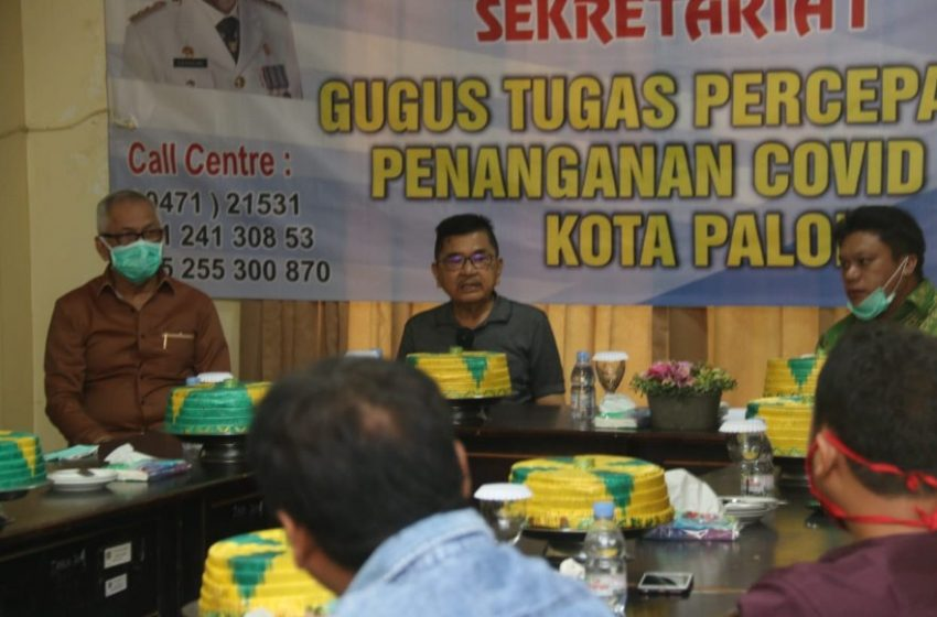 DPRD Provinsi Sulsel dan DPRD Luwu Sambangi Sekretariat Gugus Tugas Penanganan Covid-19 Kota Palopo