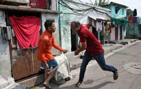 Polisi India Makassar
