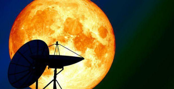 Fenomena Alam Supermoon, Jarak Bumi-Bulan Hanya 356.910 Km