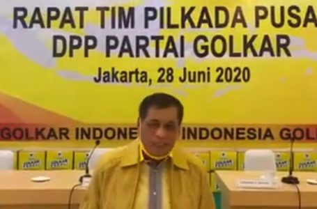 Usungan Calon Partai Golkar di Pilkada Serentak 2020 Wilayah Sulsel Ditetapkan