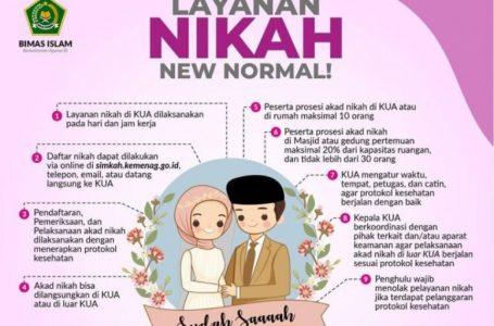 Nikah Saat New Normal Dibolehkan, Syarat dan Ketentuan Berlaku!