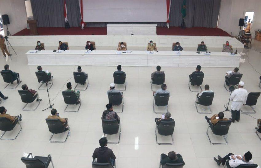 Peserta Beri Masukan ke Walikota Palopo Terkait Persiapan New Normal