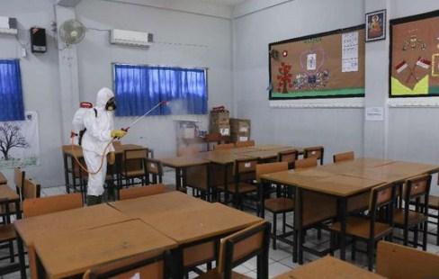 Pembelajaran Tatap Muka Dimulai, Tiga SMA di Makassar Lakukan Uji Coba
