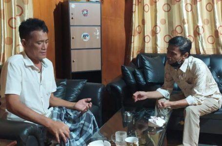 MTR Besuk Sahabat, Thahar: Jangan Putuskan Silaturahmi Karena Beda Pandangan Politik