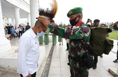 Wakil Walikota Palopo Sambut Kompi 721/Makkasau dari Penugasan Papau
