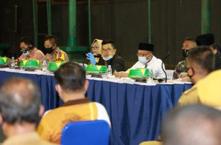 Kota Palopo Ditetapkan Zona Merah Covid-19, Walikota Gelar Rapat Evaluasi
