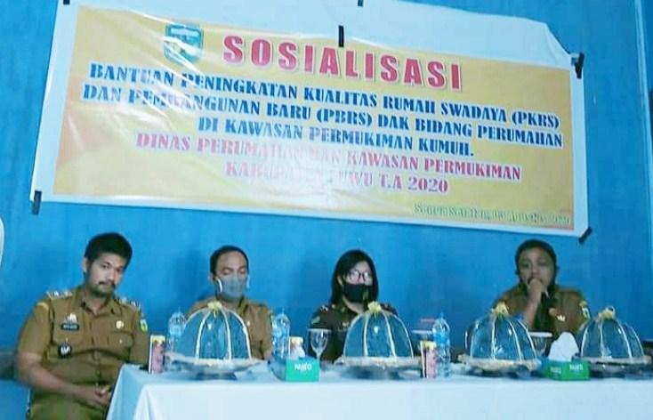 Desa/Kelurahan di Kabupaten Luwu Dapat Bantuan PKRS dan PBRS, Ini Rinciannya