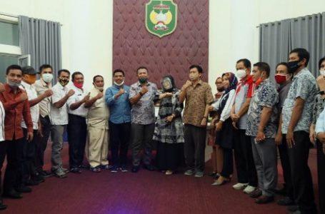 Pemkot Palopo Terima Kunjungan DPRD Kota Palu