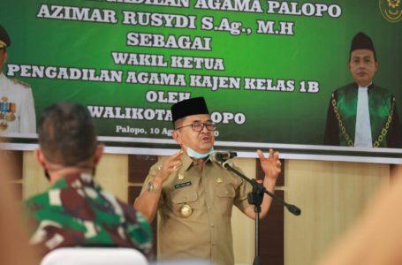 Ketua Pengadilan Agama Kota Palopo Pindah Tugas, Walikota: Ada Perasaan Sedih