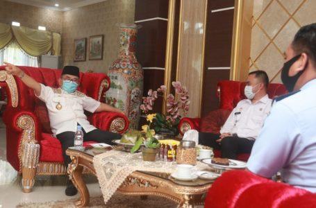 Walikota Judas Amir Terima Kunjungan Kakan Imigrasi Non TPI Kota Palopo