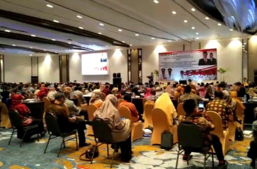 Tingkatkan SAKIP, OPD Pemkab Luwu Ikuti Coaching Clinic di Makassar