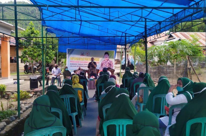 Sosialisasi Penyebarluasan Perda Sulsel, Irwan Hamid Ajak Masyarakat Berperan Aktif