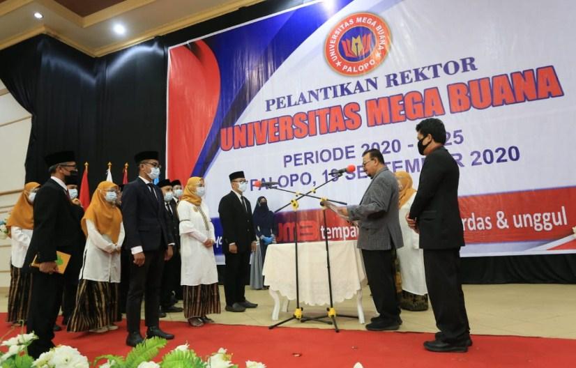 Universitas Mega Buana Palopo Lantik Rektor Pertama