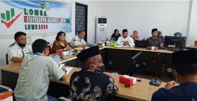 Pelaksana Lomba KIP Desa Se-Kabupaten Luwu Gelar Rapat Pemantapan