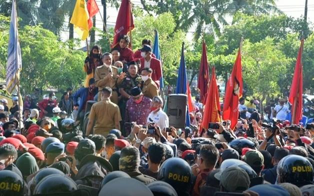 Gubernur Sulsel Akui UU Omnibus Law Tak Dapat Akomodir Keinginan Seluruh Masyarakat
