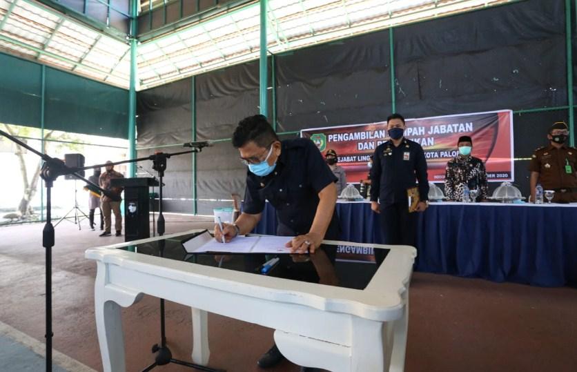 Pelantikan Pejabat Pemkot Palopo, Bagian Humas Menjadi Bagian Prokopim