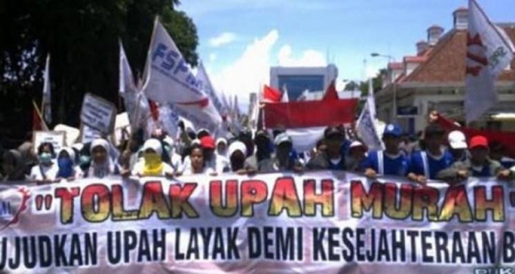 Buruh Tolak UMP 2021, Ancam Unjuk Rasa Se-Indonesia