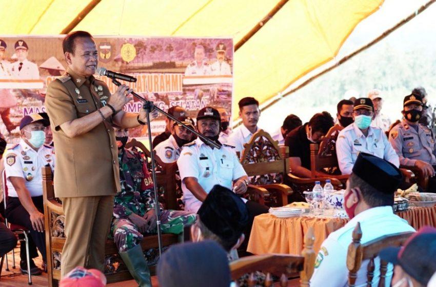 Pesta Panen Rakyat, Bupati Luwu Sumbang Pompa Air Kapasitas 8,5 PK