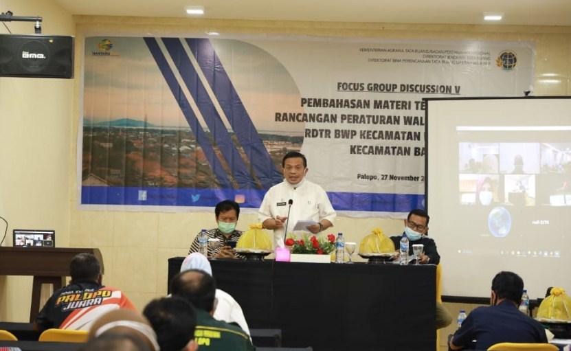 Focus Group Discussions: Penyusunan RDTD Kota Palopo