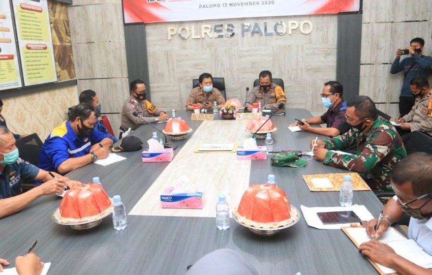 Waspada Dampak La Nina, Pemkot dan Polres Kota Palopo Gelar Rakor