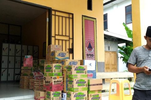 Belajar dari Bencana di Daerah Sendiri, Ratusan Paket Sembako dari BPBD Kota Palu Didistribusikan Ke Majene