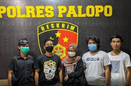 Pelaku kasus perdagnagan anak MIP, IRT yang diamankan Polres Palopo