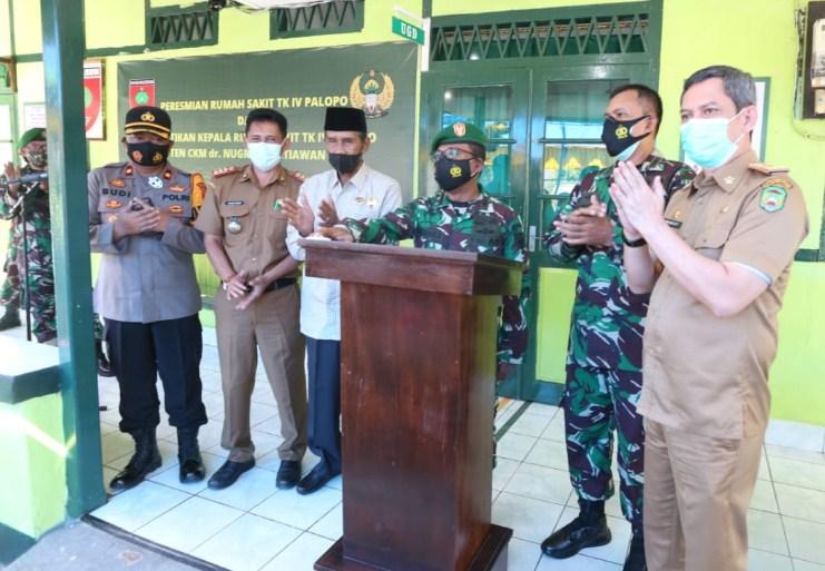 Pelantikan Kepala Rumah Sakit TK IV, Pemerintah Kota Palopo Diwakili Sekda