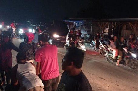 Kecelakaan lakulintas di Kota Palu