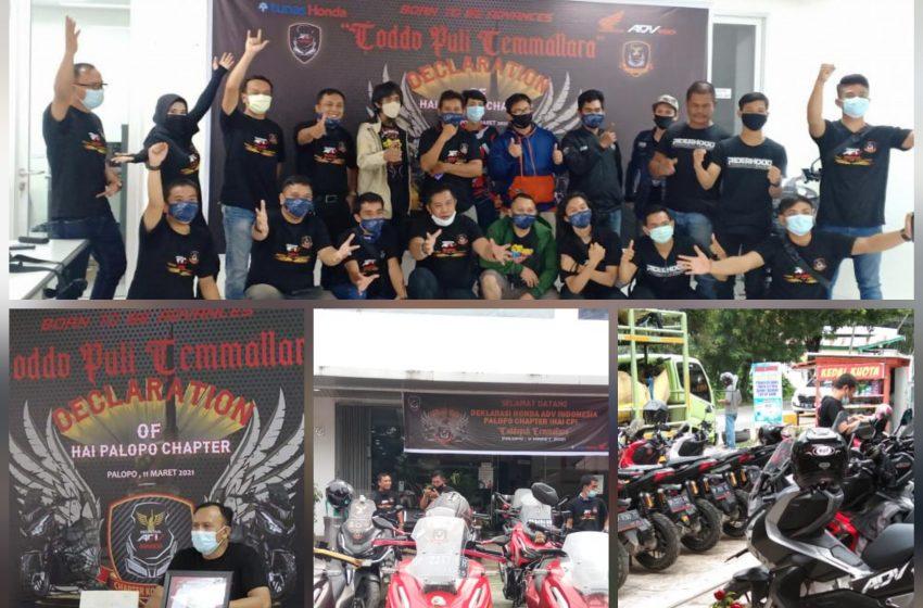 Honda ADV150 HAI Indonesia Chapter Palopo Resmi Dikukuhkan