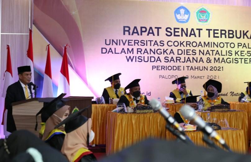 UNCP Wisuda 573 Mahasiswanya, Pemkot Palopo: Ilmu Segera Diimplementasikan ke Masyarakat