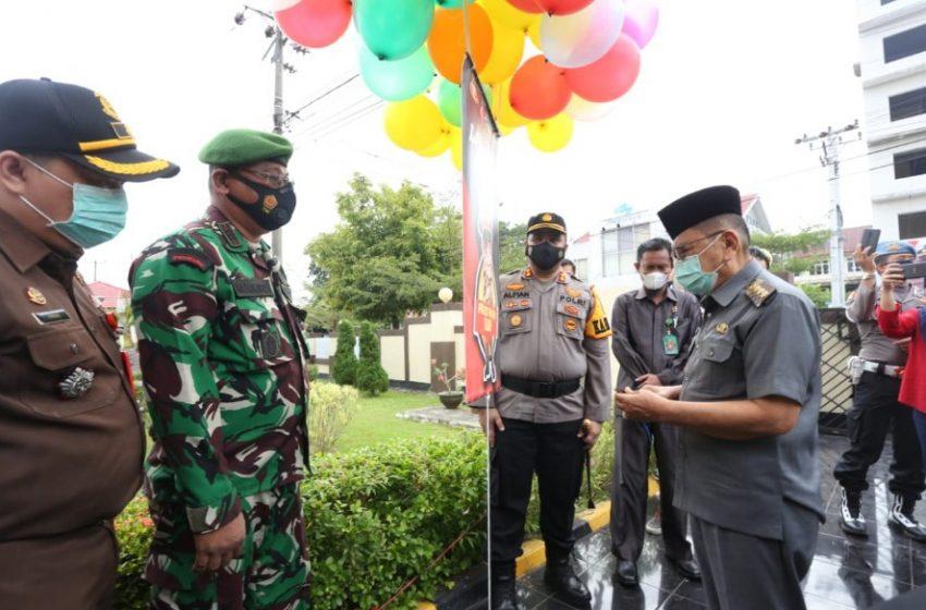 Judas Amir Saksikan Launching Aplikasi SIAP Polres Palopo
