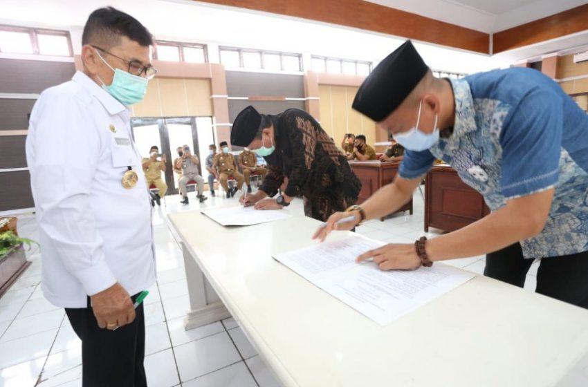 DPP&KB Pemkot Palopo dan Kemenag Teken MoU, Gelar Kampung KB dan Kampung Qurani