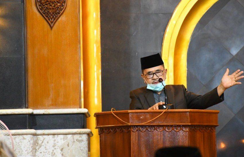 Shalat Tarwih Malam Kedua Ramadan, Walikota Palopo Ingatkan Protkes