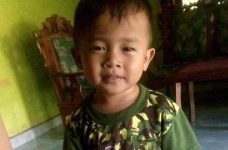 Balita usia 2 tahun yang dikabarkan hilang