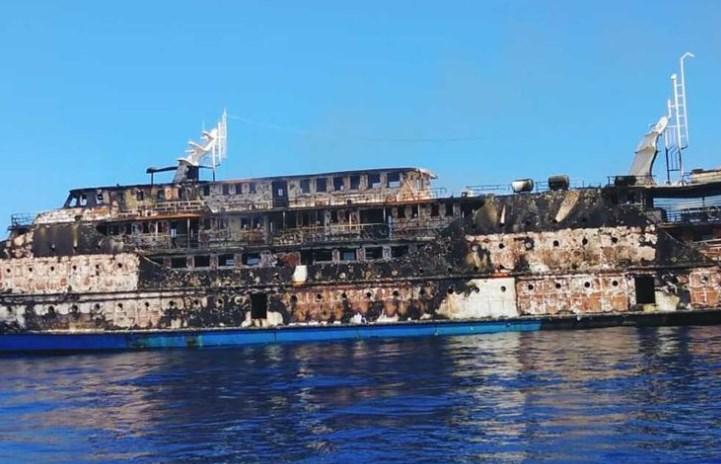 Kapal Motor Terbakar di Lautan, 181 Penumpang KM Karya Indah Dikabarkan Selamat