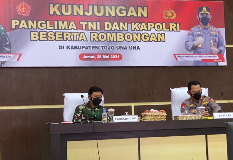 Motivasi Satgas Madago Raya, Panglima TNI dan Kapolri Pastikan Negara Tak Akan Kalah dari Teroris