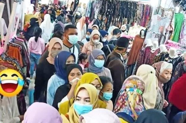 Kerumunan Warga Berbelanja, Pemerintah Siap Sanksi Pemilik Mall atau Pengelolanya