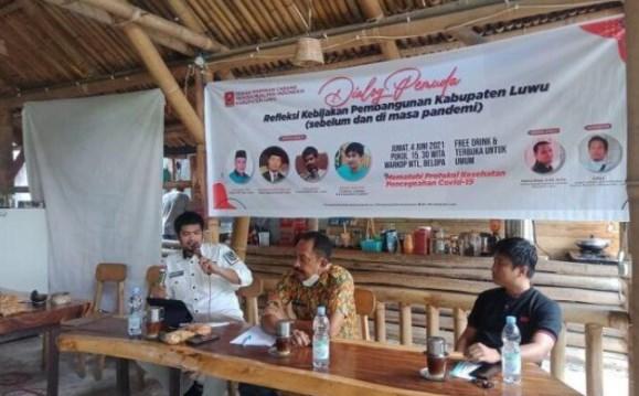 Pembangunan di Desa Belum Optimal, Ketua Apdesi Luwu Ajak Pemuda Potensi Kembali ke Desa