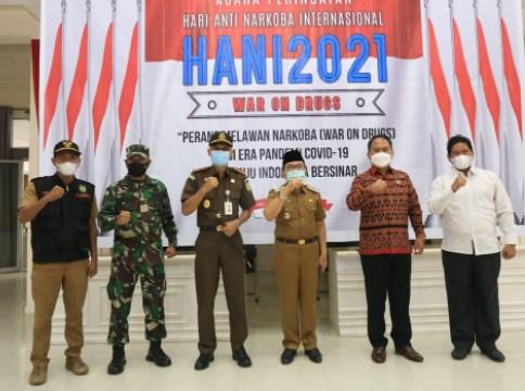 Walikota Palopo Ikuti Peringatan HANI, BNN: 128 Desa Kawasan Rawan Narkoba
