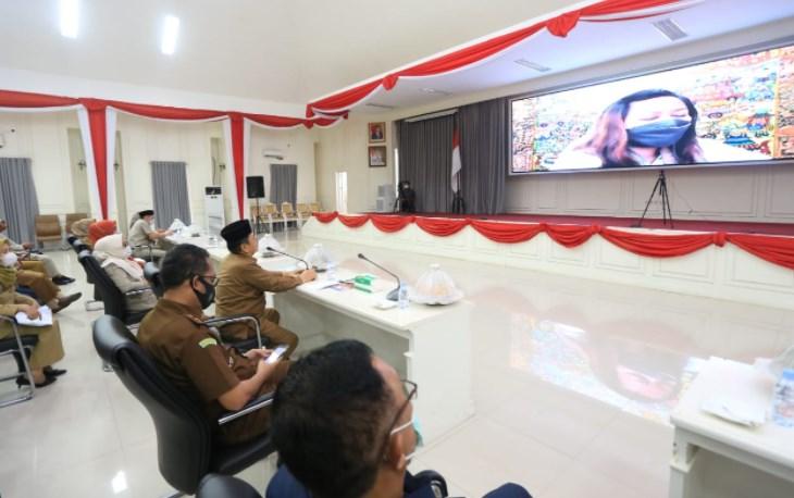Verlap Hybrid KLA dengan Kementerian PPPA, Walikota Palopo: Pemerintah Perhatikan Kebutuhan Anak Terutama Terkait Pendidikan