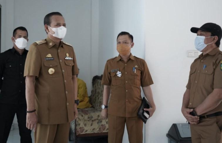 Basmin Pantau Penerapan WFH, Bupati Luwu: Jaga Kebersihan Lingkungan