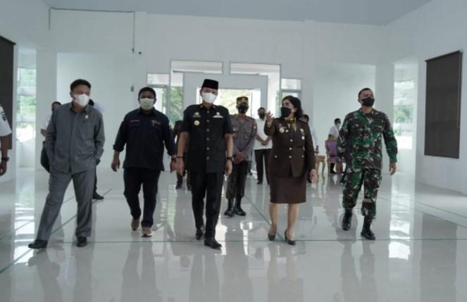 Gedung Baharuddin Lopa Diresmikan, Basmin: Sinergitas dan Dukungan Pemkab Kepada Kejari Luwu