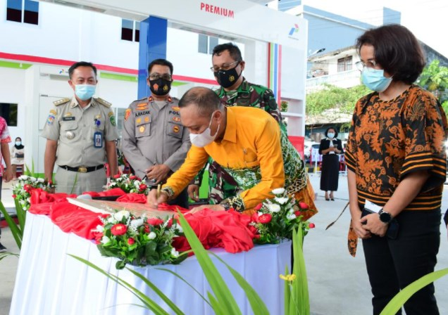 Revitalisasi SPBU Sawerigading, Wakil Walikota Palopo Harap Beri Multi Efek