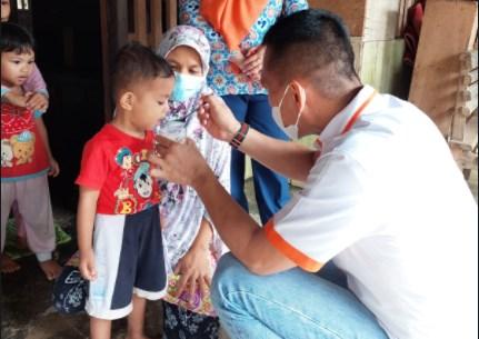 Tim Bangga Kencana Berkunjung ke Wara, FKJ: Balita dan Ibu Hamil Harus Sehat
