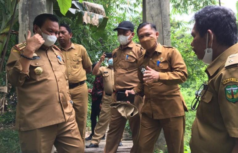 Pemkab Luwu Pastikan Jembatan Malela Dibenahi, Kadis PUPR: Sementara Kita Anggarkan Rp150 Juta