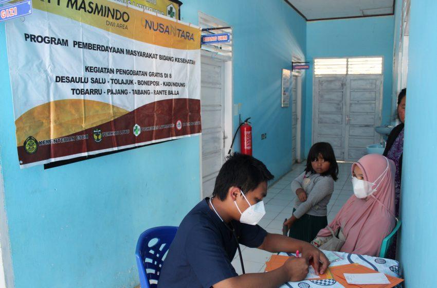 Masmindo Gelar Pengobatan Gratis di 7 Desa Lingkar Tambang