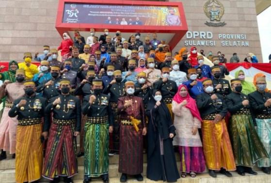 Peringatan HUT Sulsel ke 352 di Ikuti Bupati/Walikota Se Sulsel